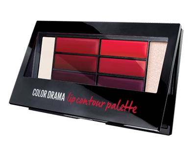 פלטת שפתונים COLOR DRAMA LIP PALETTE