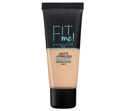 מייק אפ FIT ME! MATTE AND PORELESS