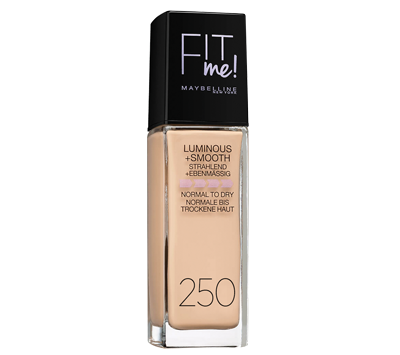 מייק אפ פיט מי - fit me! Foundation luminous and smooth