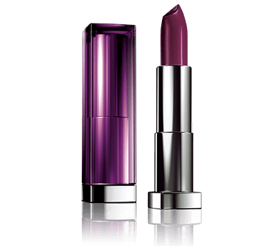 338 midnight plum - שפתון Maybelline - Color Sensational